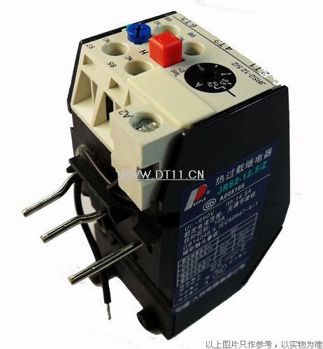 时间继电器接线实图,热过载继电器接线